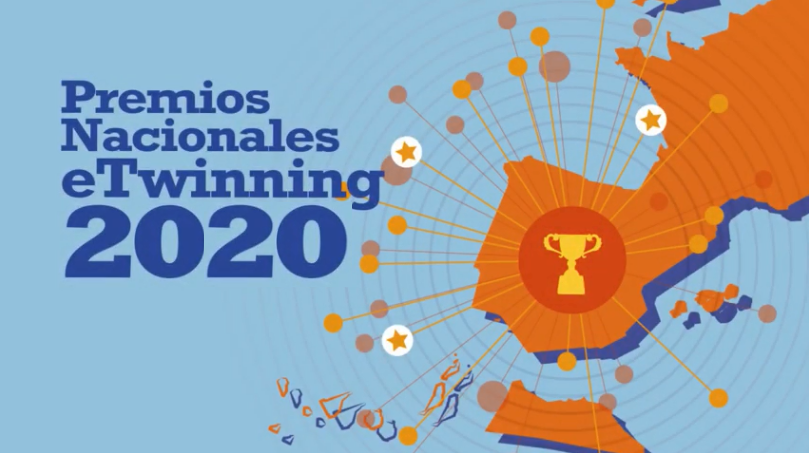 Selección de los Premios Nacionales eTwinning 2020. Proyectos y docentes premiados.