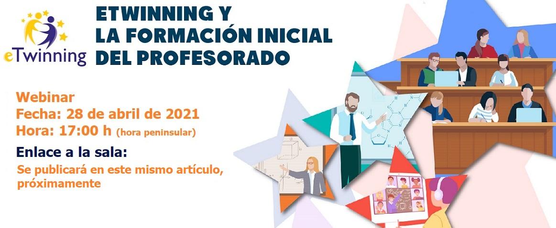 Difusión eTwinning para universidades, formación inicial del profesorado