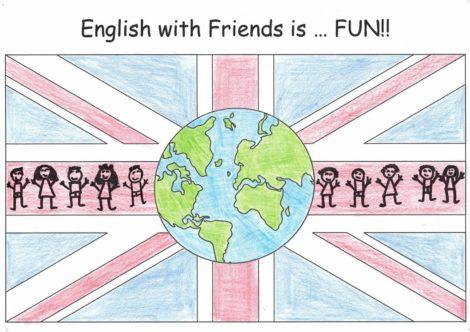 "Premio Nacional eTwinning 2020: ""English with friends is….FUN!!"""